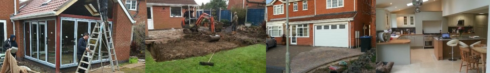 Previous house extensions from Heritage Builders