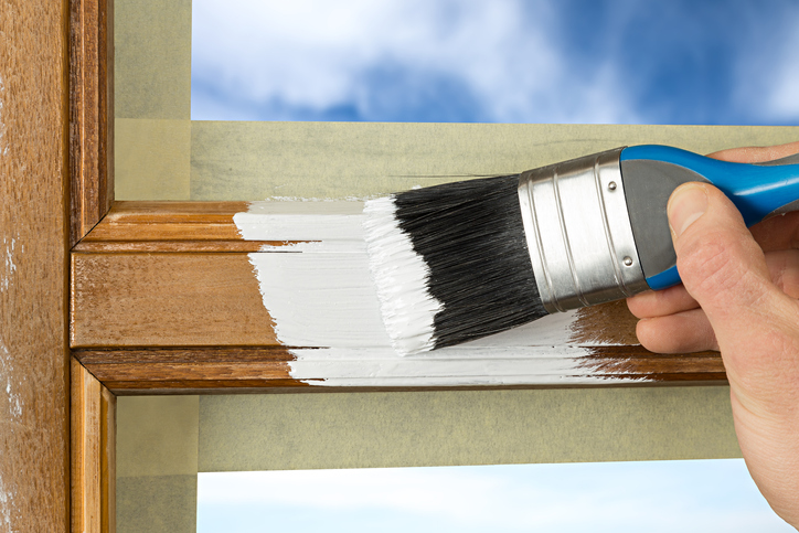 Painting a Window Frame